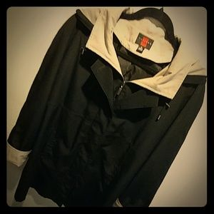 Black And Tan Hooded Gallery Jacket